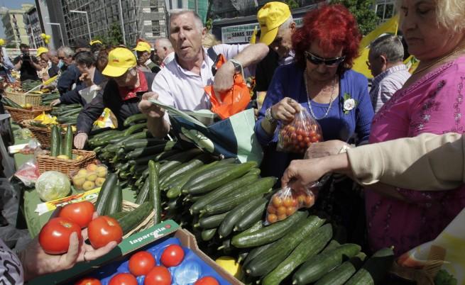 Българските зеленчукопроизводители ще бъдат компенсирани 100%