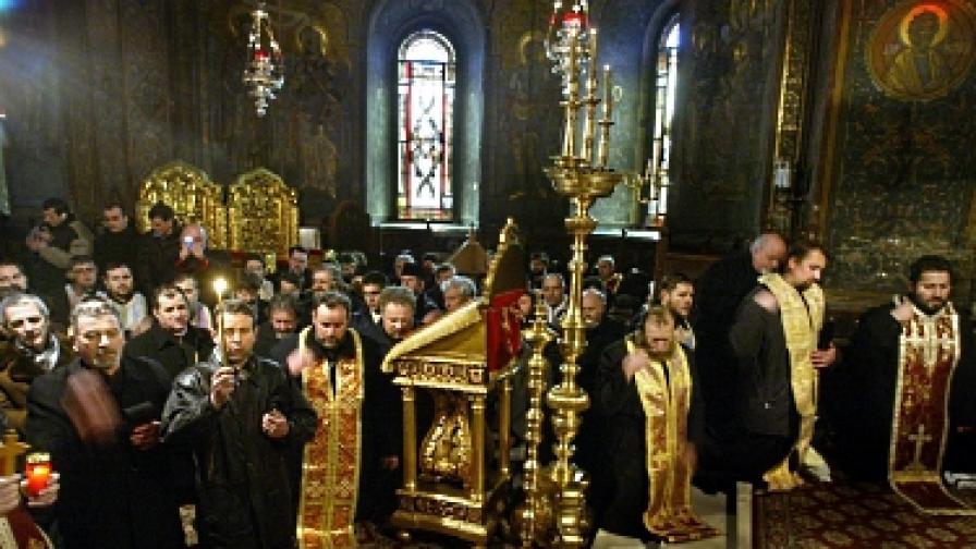 В Румъния се молят онлайн
