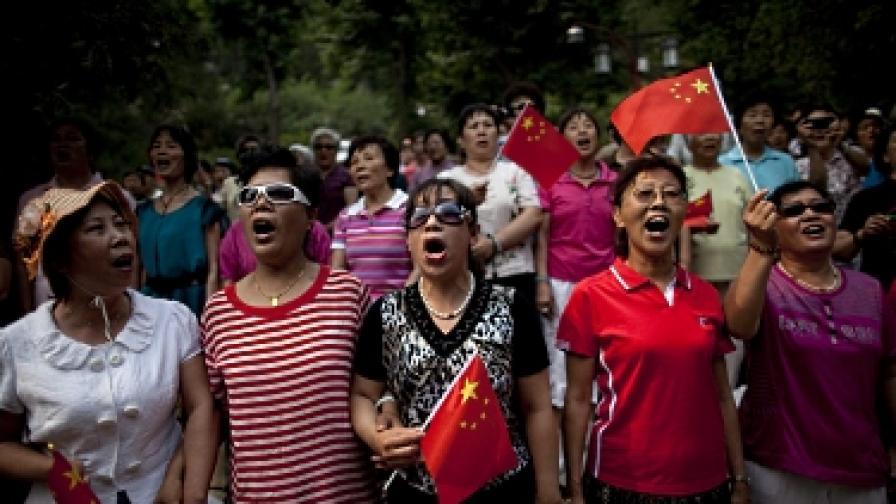 Китайската компартия става на 90 с прескъп филм
