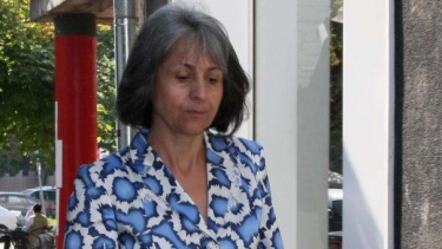 Министърът на правосъдието Маргарита Попова