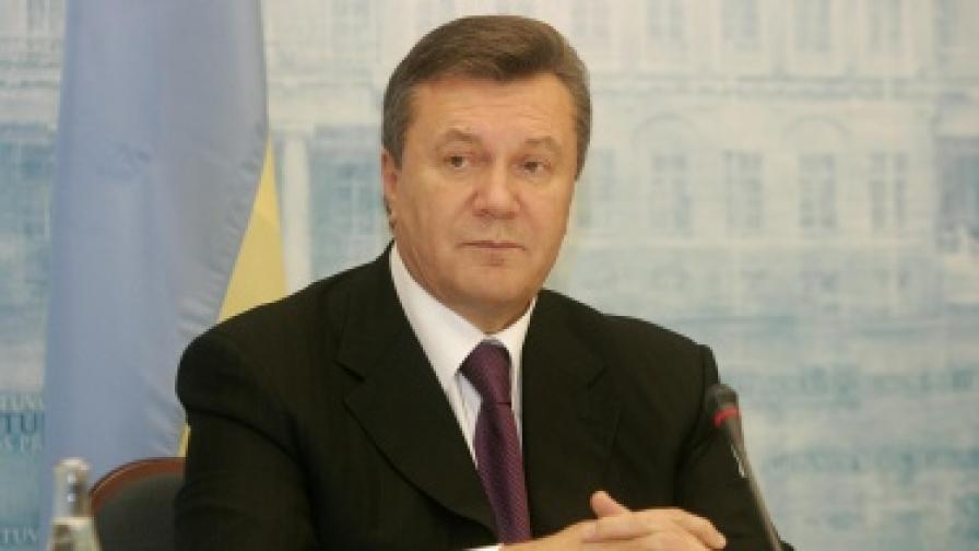 Янукович: Украйна не планира да е в НАТО