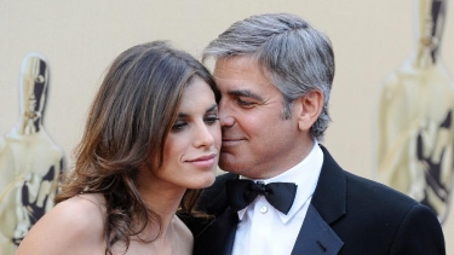 Клуни и Каналис се разделиха
