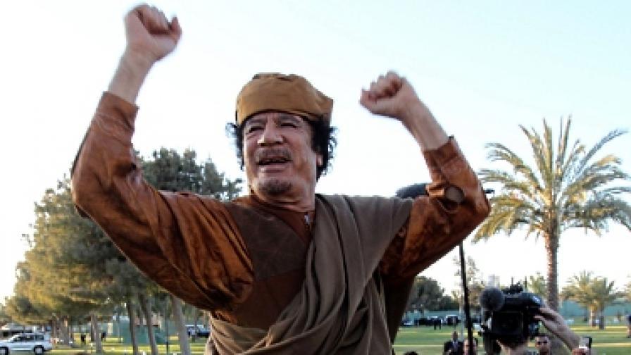 Международният наказателен съд издаде заповед за арест срещу Кадафи