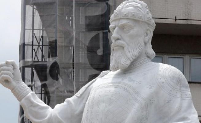 Скопие издигна паметник и на цар Самуил