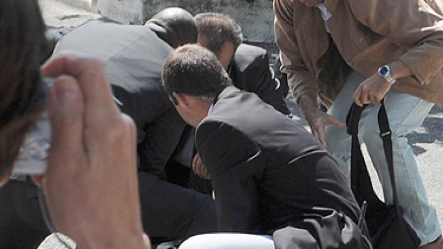 Осъдиха нападателя на Саркози