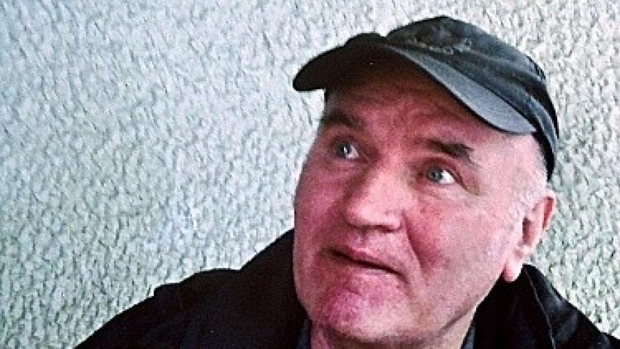 Ратко Младич след залавянето му през май 2011 г.