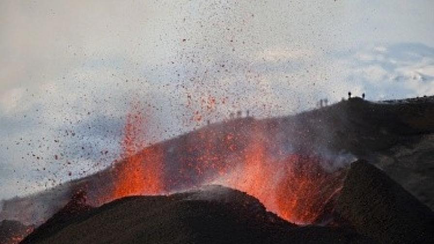 Исландски вулкан пак може да обърка трафика