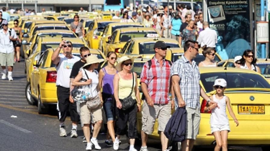 Гърция: Стачка на такситата блокира туристите