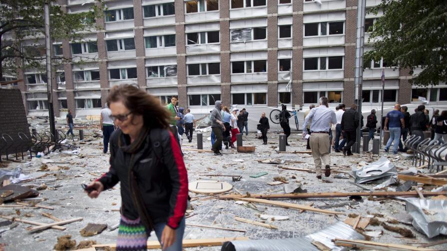 Бомба в Осло и стрелба на близък до столицата остров