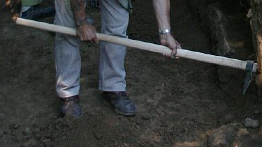 Откритие на 8000 години край село Оходен