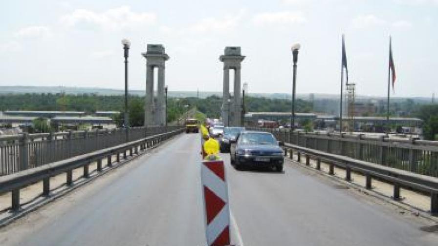 """Протест и блокада на """"Дунав мост"""""""