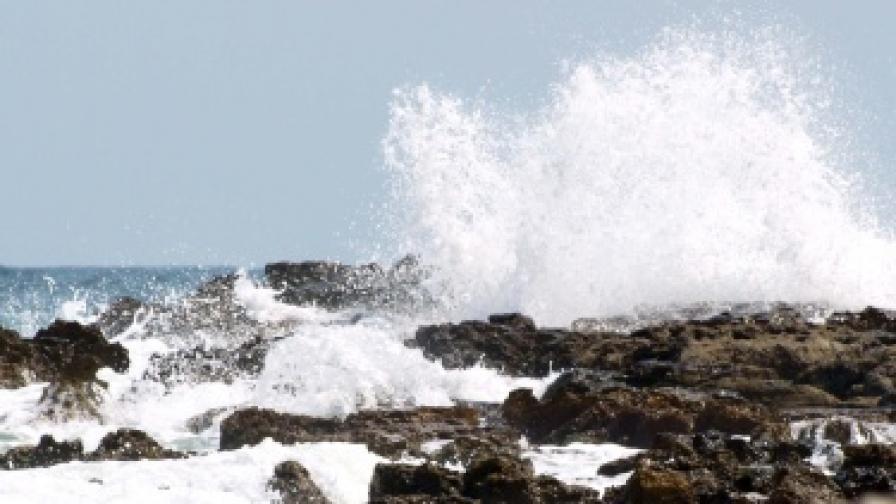 Изглед от брега при с. Тюленово
