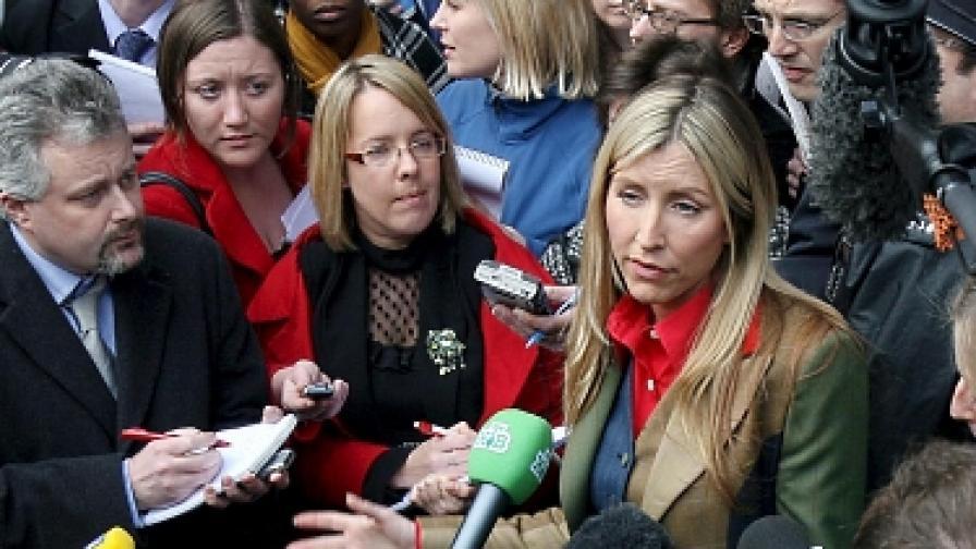 "Бившата на Макартни подслушвана от журналист на ""Мирър груп"""