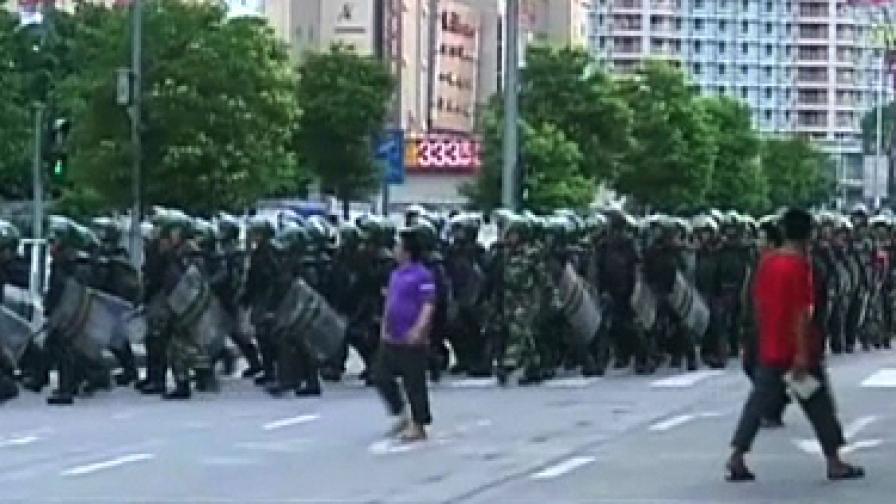 Неправилно паркиране доведе до бунт в югозападен китайски град