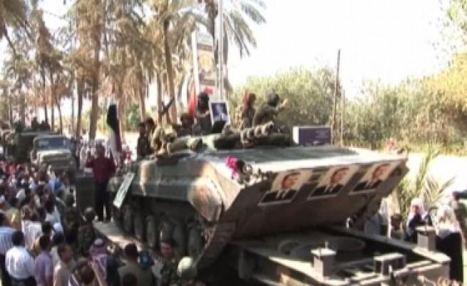 Сирия обеща да спре насилието срещу демонстранти