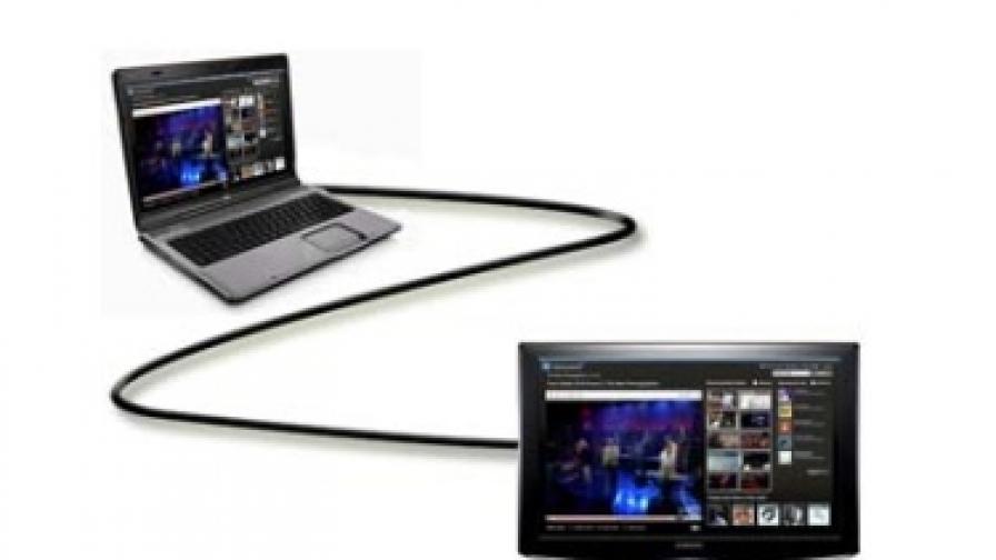 Как да свържем лаптопа с телевизора си