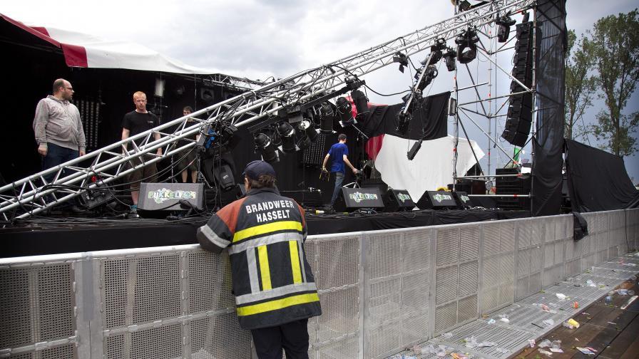 Пет жертви на музикален фестивал в Белгия