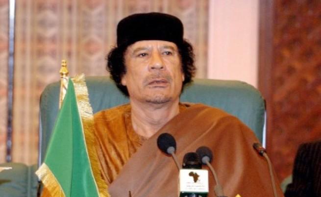 Кадафи се появи в аудио запис