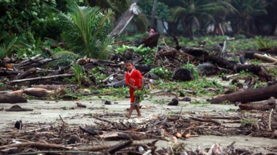 """""""Айрин"""" е първият ураган за сезона в Карибите"""