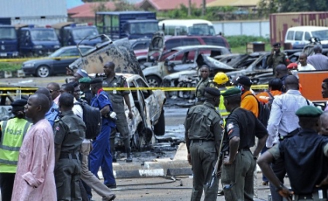 Бомба срина част от сграда на ООН в Нигерия