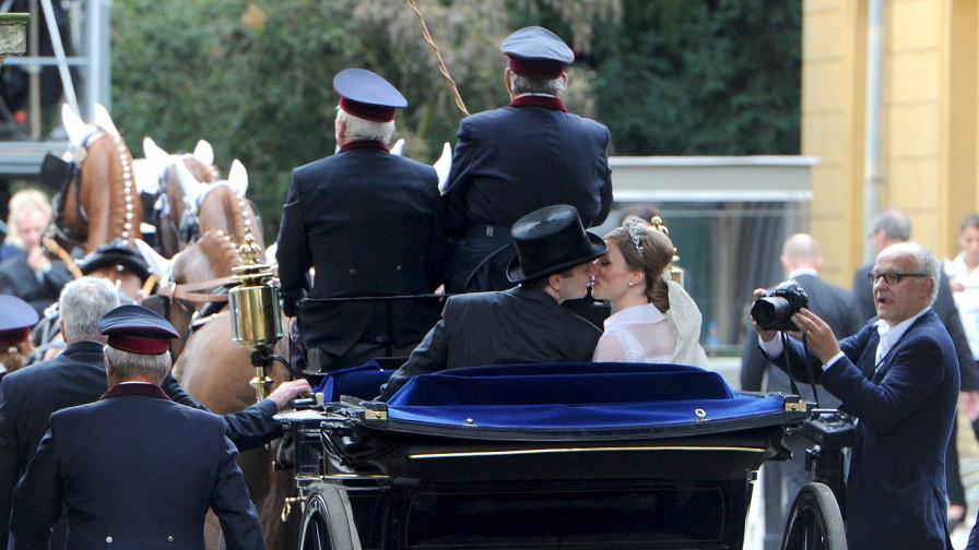 Принцът на Прусия и принцесата на Изенбург се ожениха