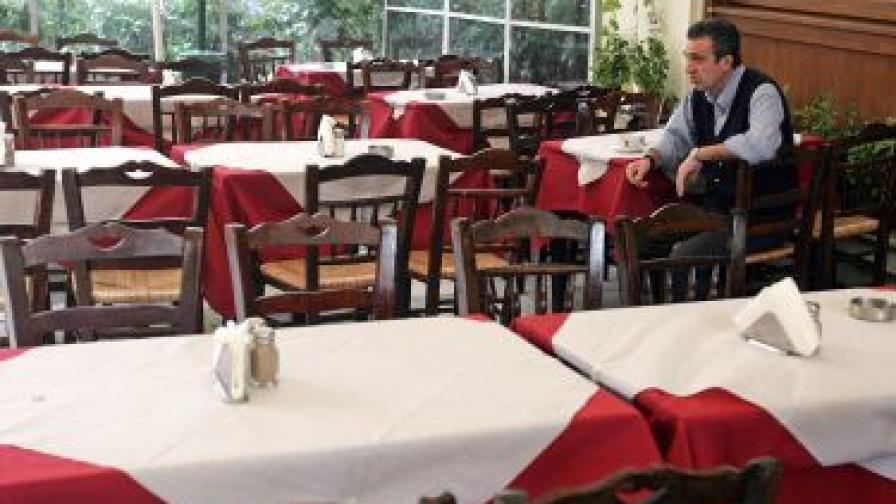 Ресторантите в Гърция спират плащанията на хазната