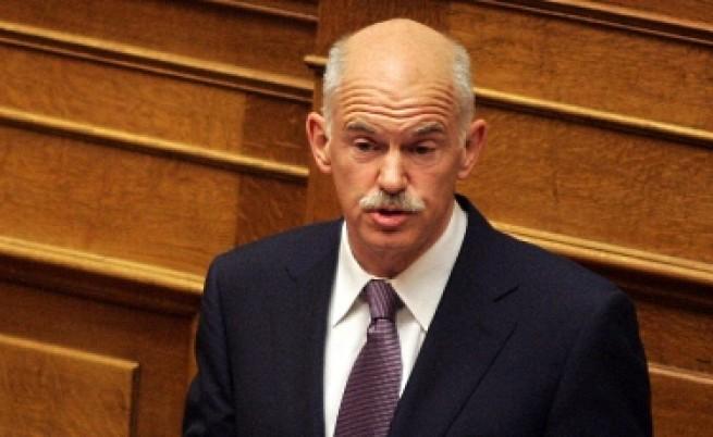 Папандреу гневен на чешкия си колега, който казал, че