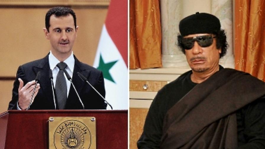 """От """"Бийтълс"""" до Кадафи и Асад"""