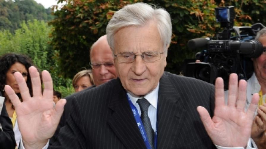 Президентът на ЕЦБ Жан-Клод Трише