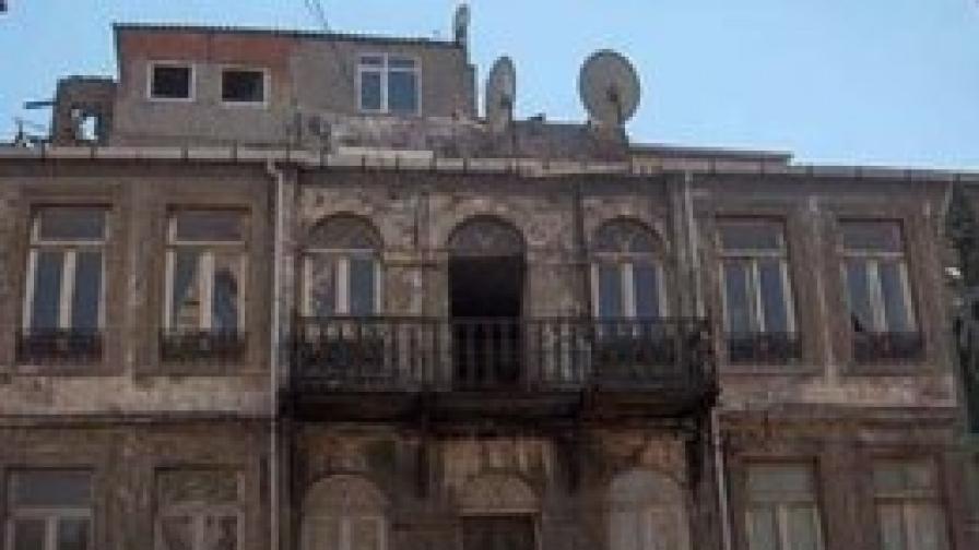 Болницата в Истанбул, построена с дарение на Евлоги Георгиев