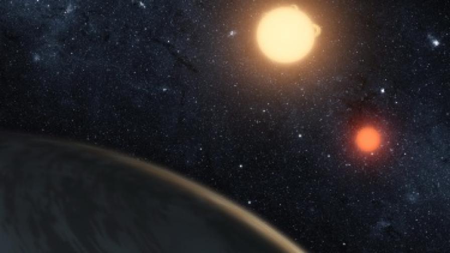 Откриха странна планета, която поглъща светлината