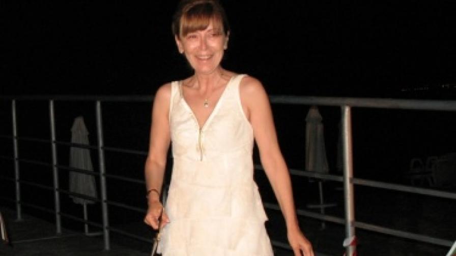 """Изп. директор на """"Слънчев бряг"""" АД Мария Михалева на 11 юни тг., когато официално бе даден старт на туристическия сезон в най-големия курорт на Балканите – Слънчев бряг"""