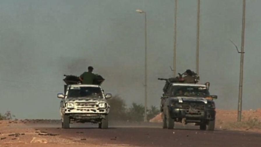 Силите на ПНС влязоха в Бани Уалид