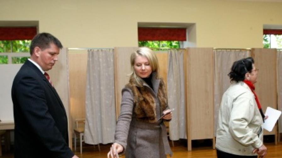 Проруска партия печели парламентарните избори в Латвия