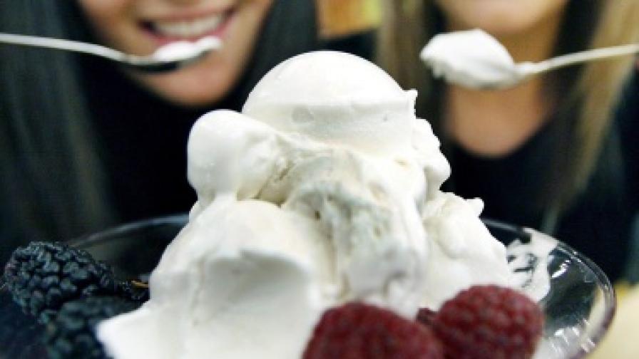 Пускат сладолед от камилско мляко