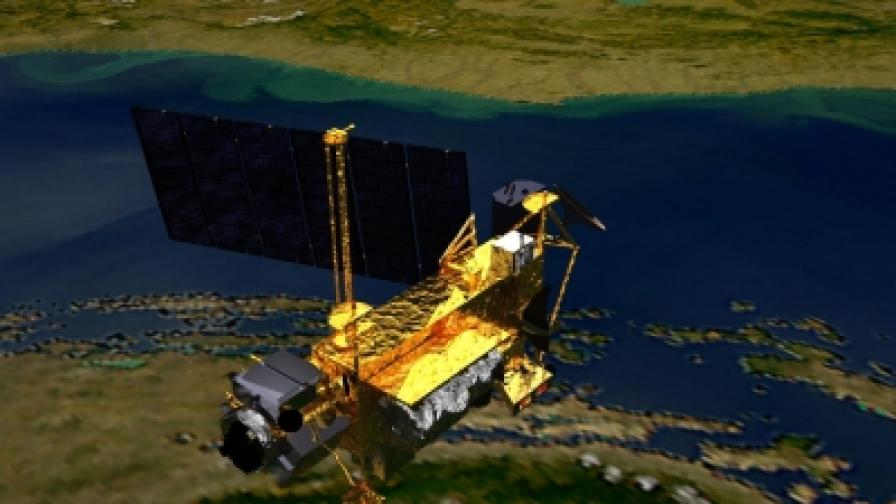 Американският спътник се е разпаднал над Тихия океан