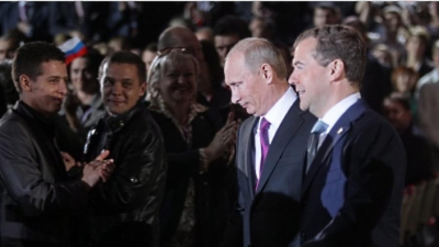 Путин пак ще е президент, Медведев - премиер