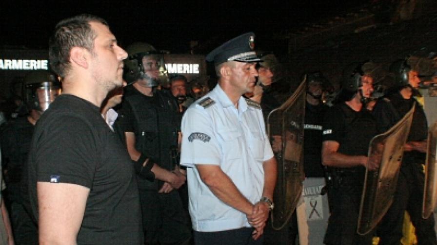Калин Георгиев: МВР не е заставало на ничия страна