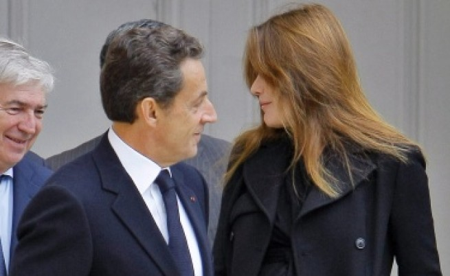 Саркози впечатлил Карла с познания по ботаника