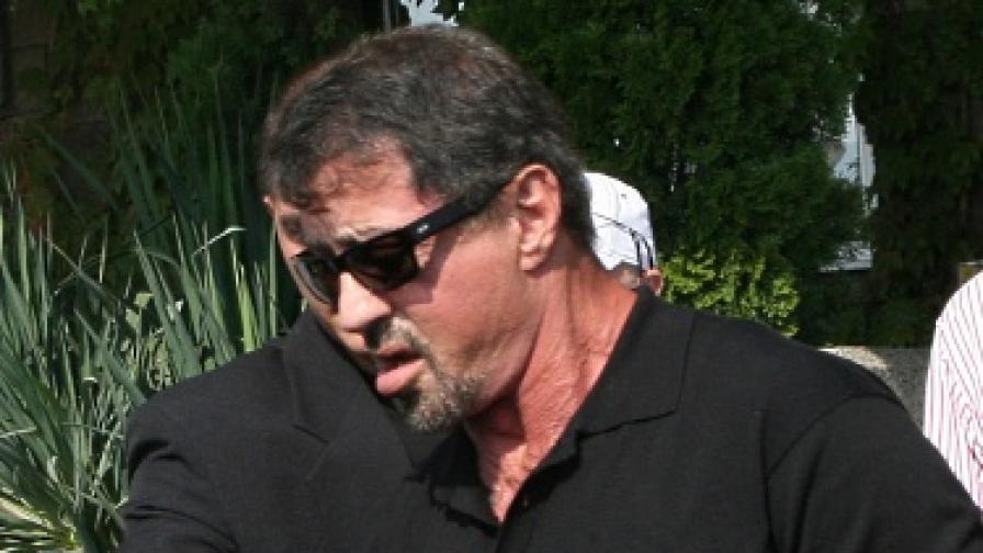 Силвестър Сталоун вече е в България