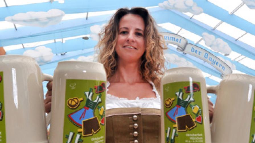 7,5 млн. литра бира и 118 вола на Октоберфест