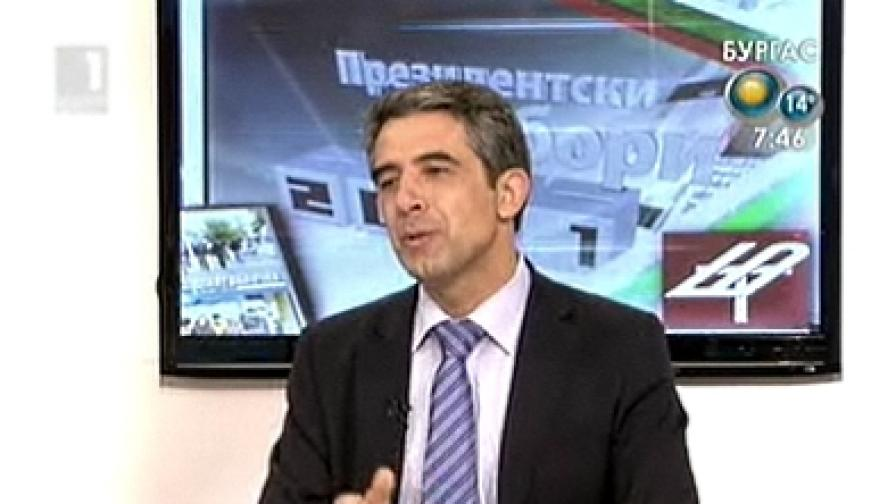 Плевнелиев: Не, не съм аватар на премиера Борисов