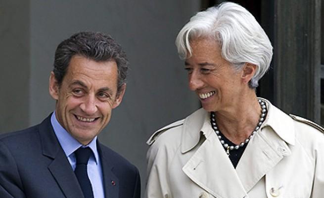 Саркози и Лагард – разговори и мълчание