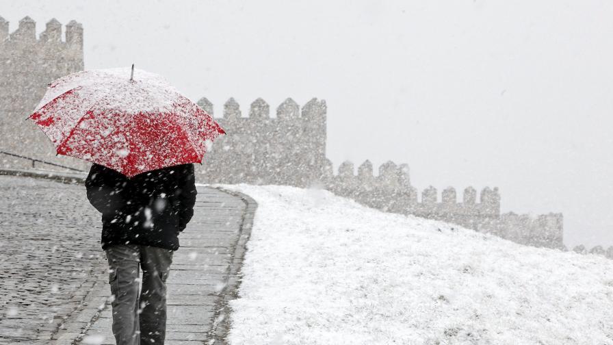 Британски синоптици: Европа да се готви за голям студ