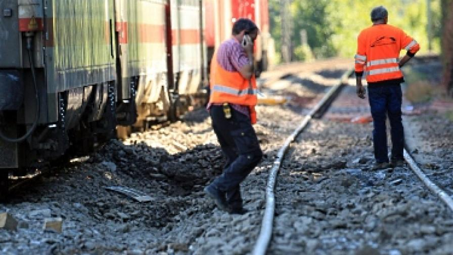 Палеж и опит за палеж нарушиха трафика на железниците в Берлин