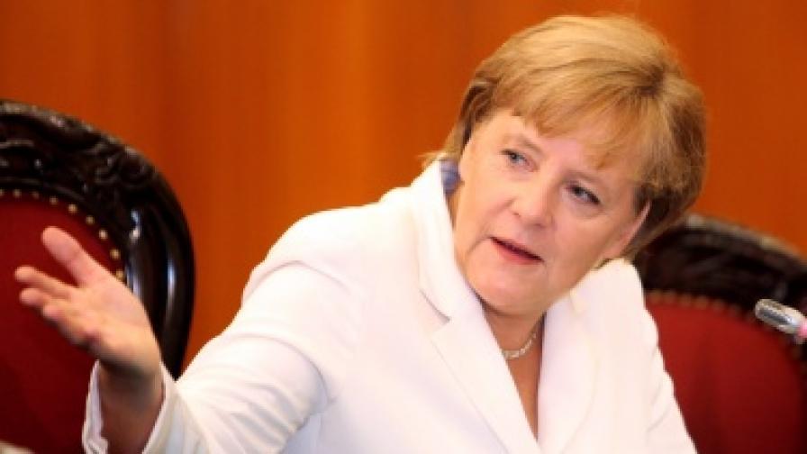 Меркел: Искам Силен съюз, а не Съюз на дълга