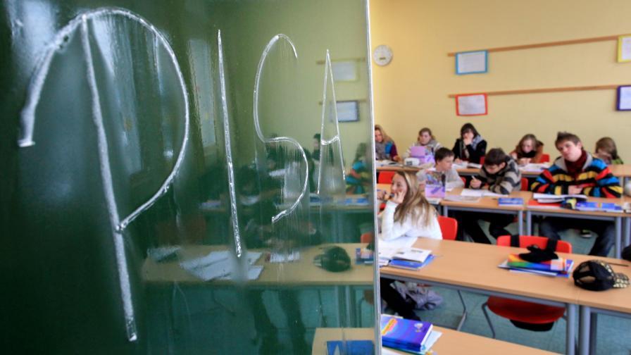 Учителка се запали пред учениците си