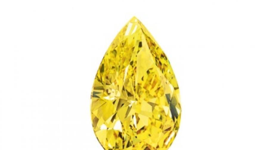 6,6 млн. долара за рядък жълт диамант