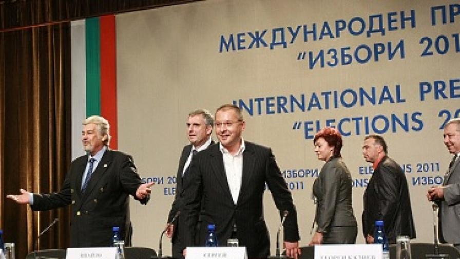 Станишев: Такива избори 20 г. не е имало