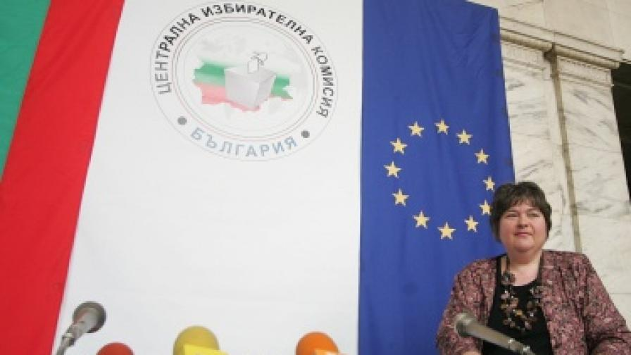Говорителят на ЦИК Ралица Негенцова
